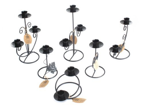 Iron Candle Stick Holders