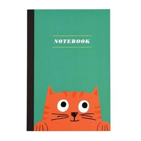 Childrens Notebook - Cat Design