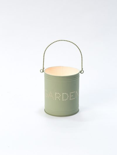Recycled Metal Tealight Holders Gardener