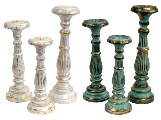 Vintage Candle Stick Stands