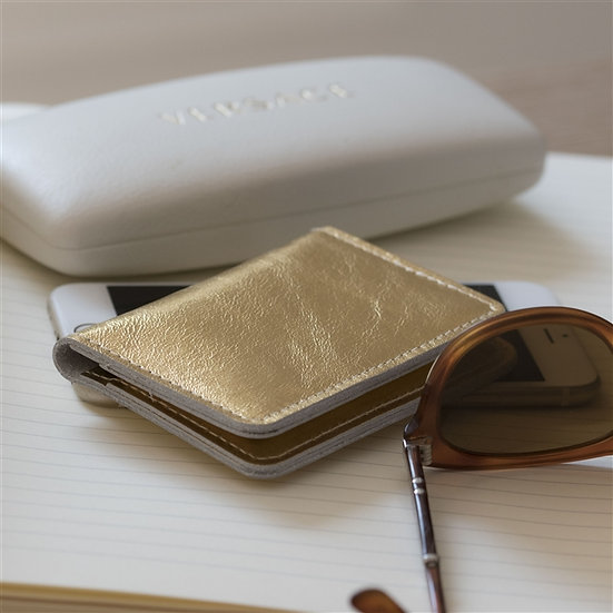 Personalised Handmade Genuine Leather Card Case