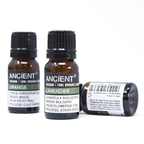 10 Different Organic Essential Oils