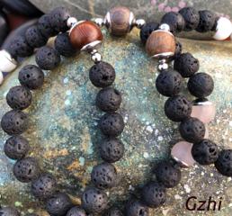 Gzhi, The Elegant, Grounding Bracelets for men