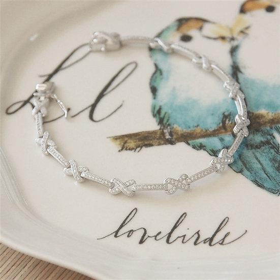 Handmade My Kisses Bracelet