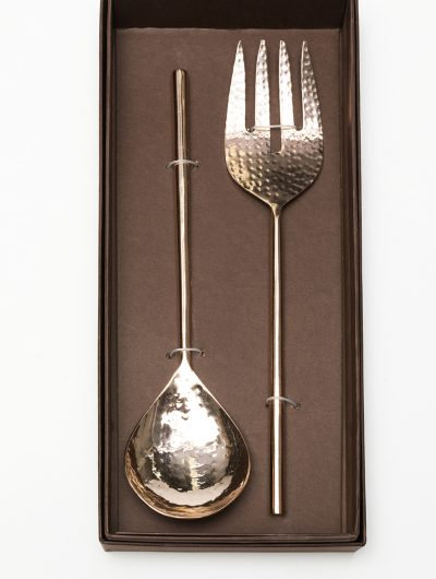 Copper Salad Servers