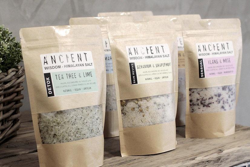 Himalayan Bath Salt Blends