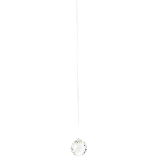 6cm Clear Hanging Crystal