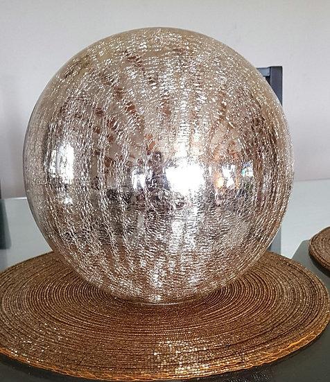 Crackle Glaze Gold Battery Operated Light Balls