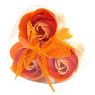 Luxury Handmade Soap Flowers, Heart Box 3