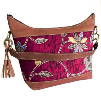 Batik & Leather Bags - Shoulder Bag