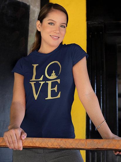 Women's Vegan Yoga T-Shirt - Love