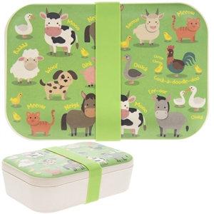Farmyard Bamboo Eco Lunch Box