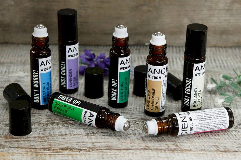 Roll-On Essential Oil Blends