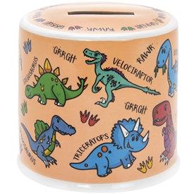 Ceramic Money Box - Dinosaurs