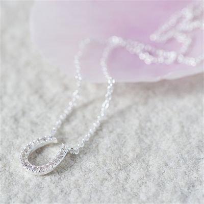 Handmade Lucky Horseshoe Necklace