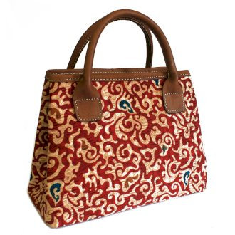 Batik & Leather Bags - City Bag