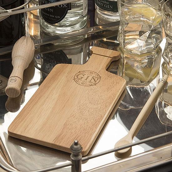 Mini Gin Bar Chopping Board