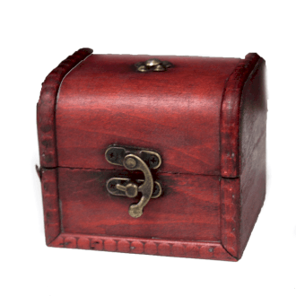 Vintage Style Box - Small Classic Chest