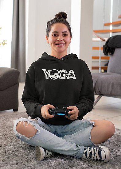 Unisex Vegan Yoga Hoodie - Yoga