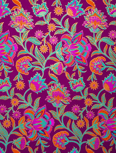 Rubine Handmade Floral Twist individual Gift Wrap