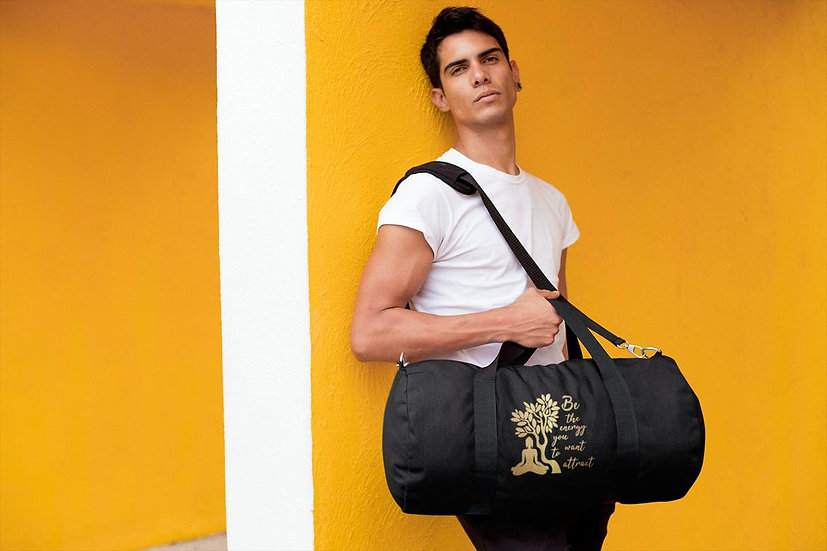 Vegan Yoga/Gym Bag - Be The Energy You Want To Attract