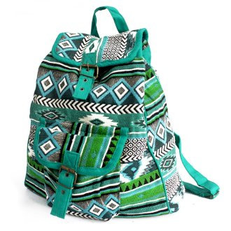 Jacquard Backpack Nepal Style Bags
