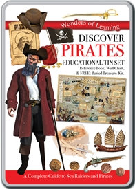 Educational Tin Sets - Discover Pirates