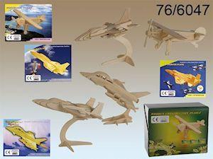 3D Wooden Puzzles - 4 Air planes