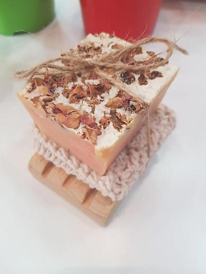 Syrian Natural Rose Petal Soap