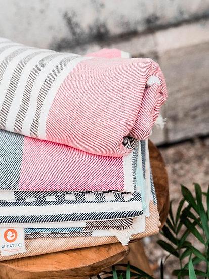 El Patito Bohemian Series - 100% Cotton Turkish Towels - Large Bath Towel