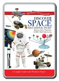 Educational Tin Sets - Discover Space