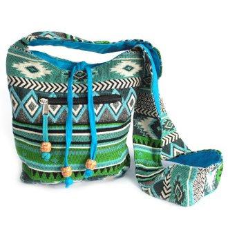 Jacquard Sling Nepal Style Bags