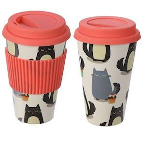 Bamboo Travel Cups - 2 Styles