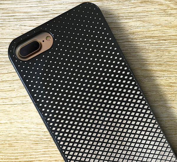 Real Wood Engraved Phone Cover - Gradient