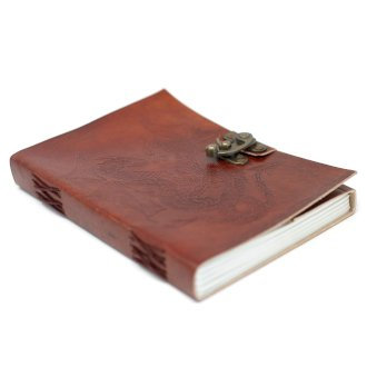 Leather Notebooks, Blank Paper