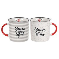 You're Brew-tiful Couples Mug Set