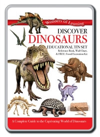 Educational Tin Sets - Discover Dinosaurs