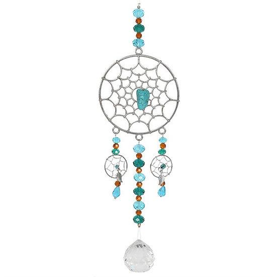 45cm Hanging Dreamcatcher Crystal