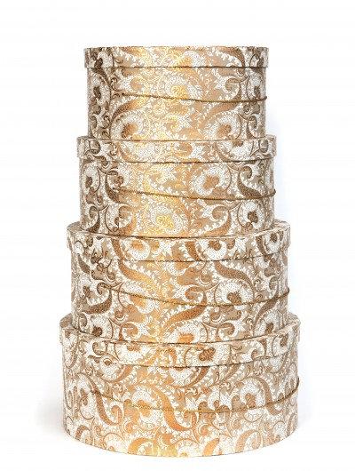 Gold Splendour Hat Box Nest