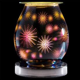 Touch Sensitive Round Glass Aroma Lamps
