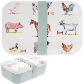 Bamboo Lunch Boxes - 2 Styles