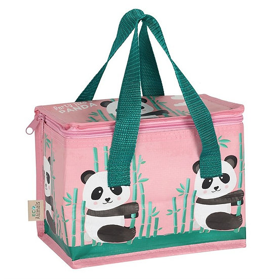 Eco Insulated Lunch Bag - Penelope Panda