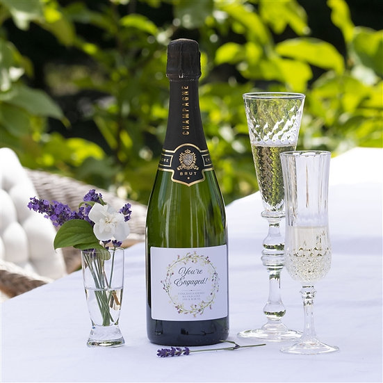 Personalised 'You're Engaged' Champagne
