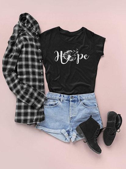 Women's Vegan Yoga T-Shirt - Hope