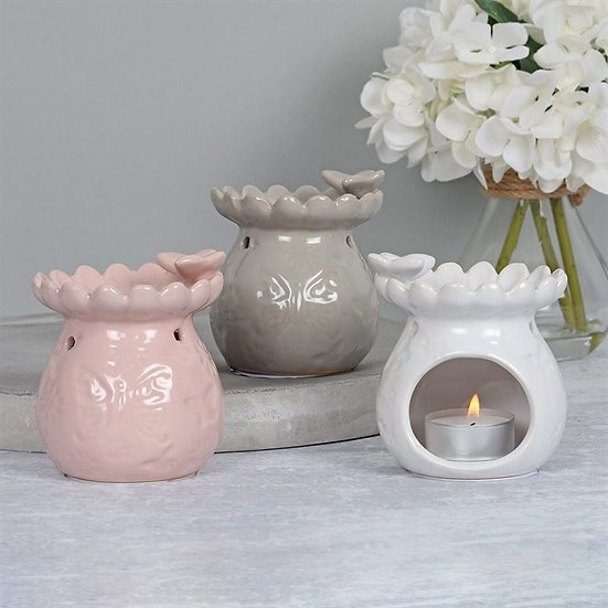 9cm Butterfly Flower Oil Burner
