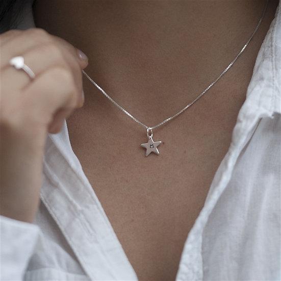 Handmade Tiny Star Necklace