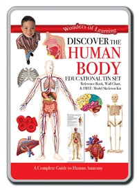 Educational Tin Sets - Discover the Human Body
