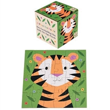 24 Piece Puzzle With Teddy the Tiger