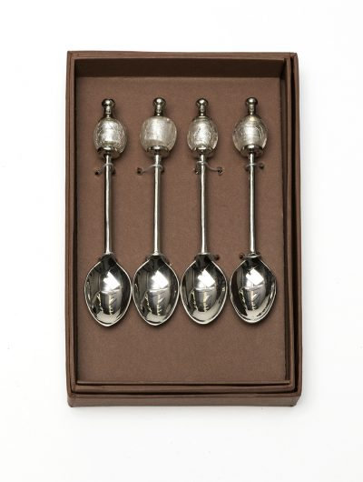 Clear Beads Coffee Spoons