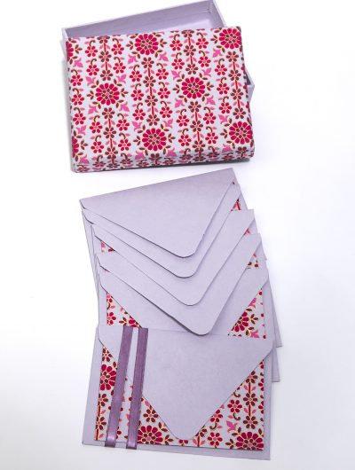 Handmade Daisy Boxed Notelets